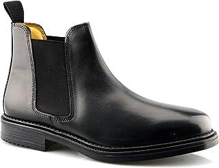 Roamer Mens Leather Flexible Fuller Fit Chelsea Dealer Ankle Boots Shoes Size
