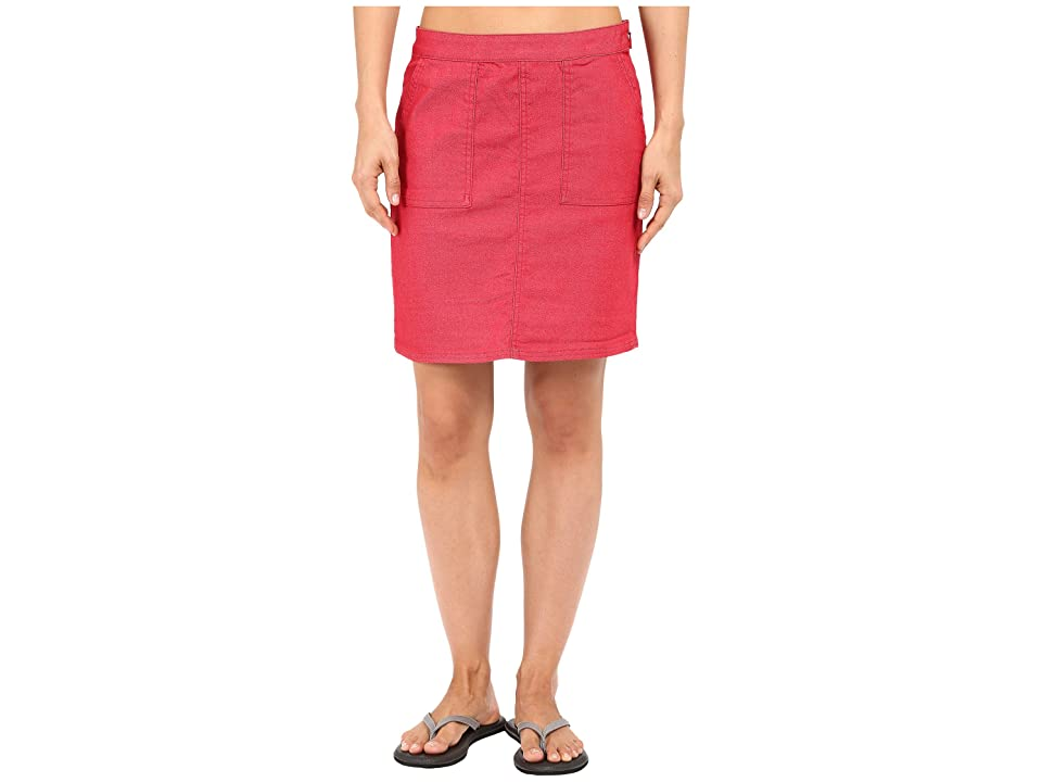 Prana Kara Skirt (Sunwashed Red) Women