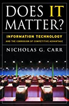 Best does information technology matter Reviews