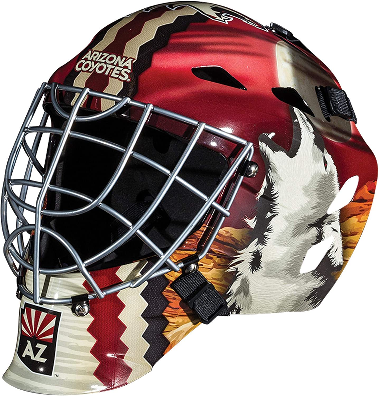 Arizona Coyotes Unsigned Franklin 超目玉 Sports 当店限定販売 Mask Replica Goalie - U