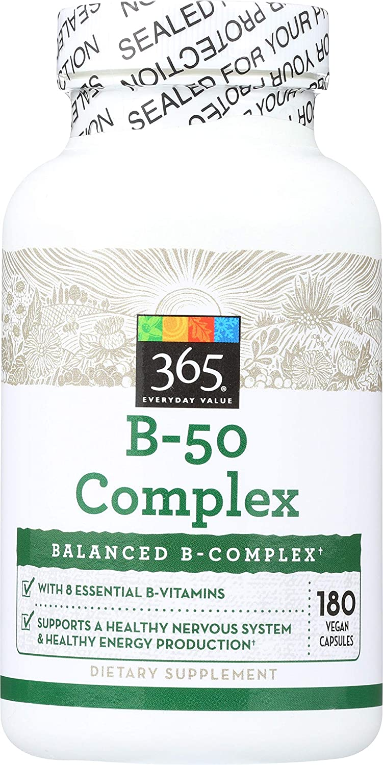 365 Everyday Value B – Max 61% OFF 5 ☆ very popular Complex 50 180 ct