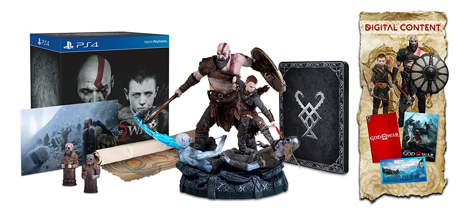 God of War Collector's 4 Overseas parallel import regular item Edition PlayStation Quantity limited -
