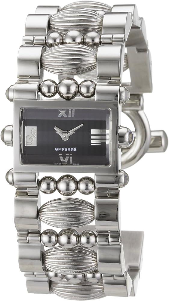 Gianfranco ferre` orologio da donna in acciaio inossidabile GF 9005L