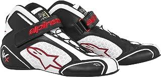 Alpinestars (2712113-123-2.5 Black/White/Red Size-2.5 Tech 1-KX Karting Shoes