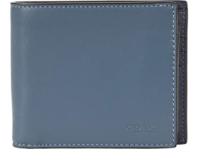 COACH 3-in-1 Wallet in Color-Block Leather
