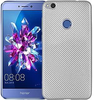 Case for Huawei P8 Lite 2017 PRA-LX3 PRA-LA1 PRA-L31 / Huawei P9 Lite 2017 PRA-LX1 / GR3 2017 PRA-LA1 PRA-LX2 Case TPU Silicone Soft Shell Cover Silver RK-Huawei P8 Lite 2017-Silver