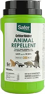 Safer 5929 Brand Critter Ridder Animal Repellent Granules, Green