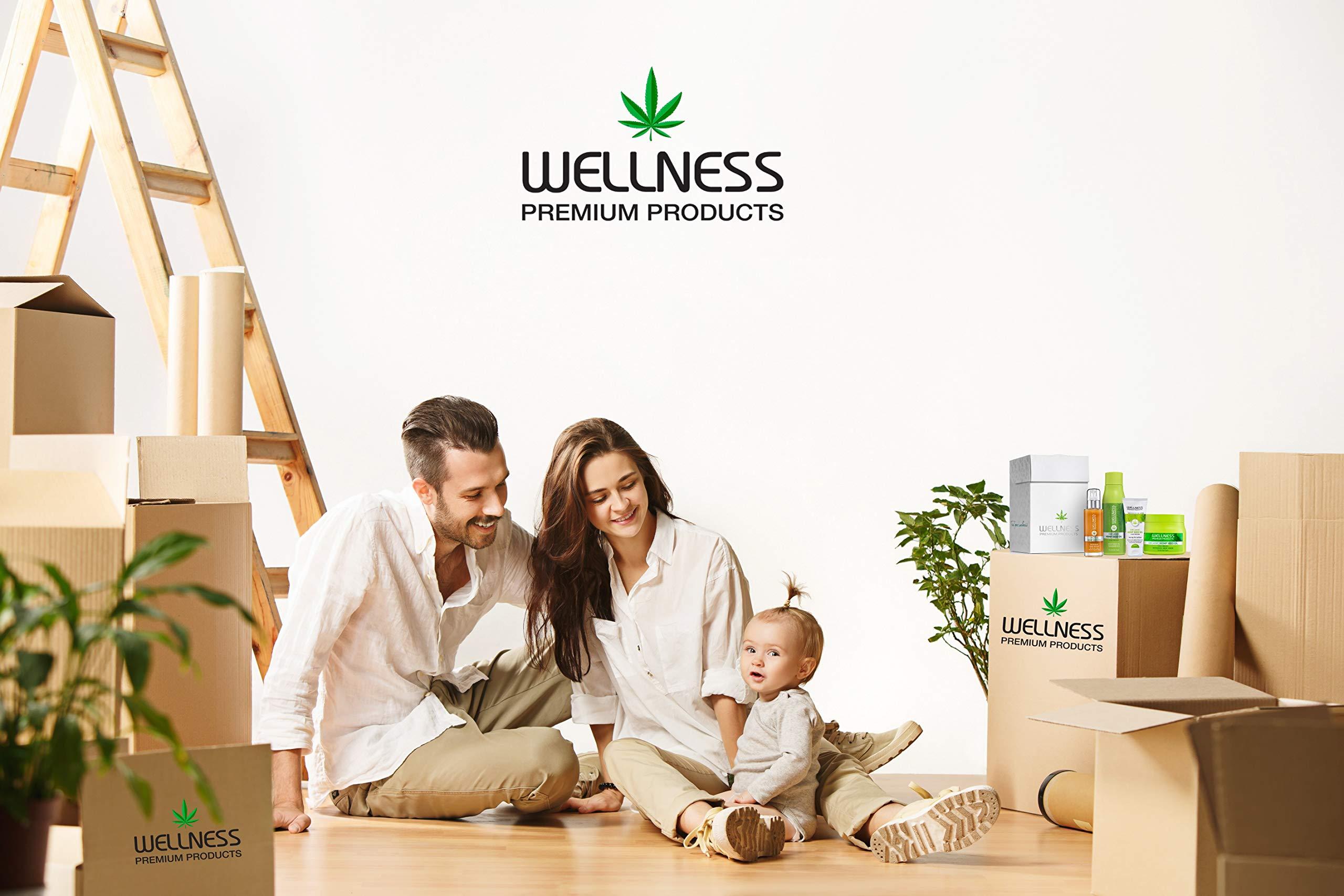 Welllness Premium Products Organic Hemp Serum, 100ML (3.4 oz)