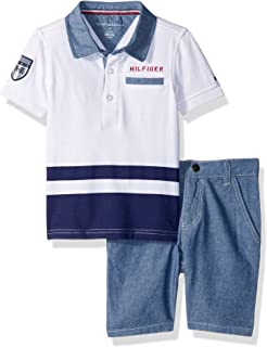 Tommy Hilfiger Boys' 2 Pieces Polo Shorts Set