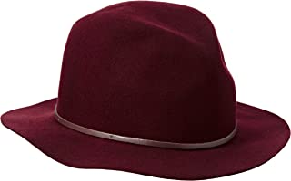 BAILEY HAT COMPANY Men's Jackman, Burgundy, Small