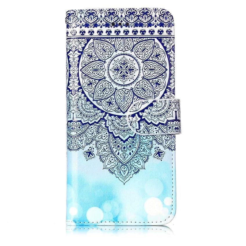 未亡人連続したジャンプするCUNUS iPhone 7 / iPhone 8 ケース, 高品質 スタンド機能 華やかなデザイン 合皮レザー ケース 耐汚れ カード収納 カバー, 模様 6