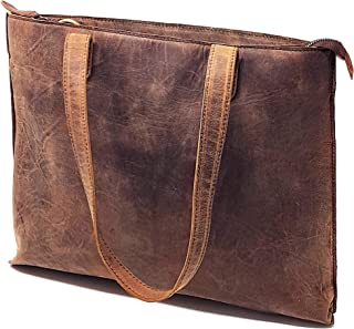 Best distressed leather tote Reviews