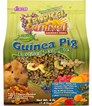 F.M. Brown'S Tropical Carnival Natural Guinea Pig Food, 4-Lb Bag - Vitamin-Nutrient Fortified Daily Diet With Vitamin C An...