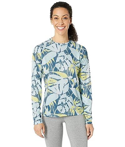 Columbia Super Tidal Tee Long Sleeve Shirt (Impulse Blue/Dotty Palms) Women