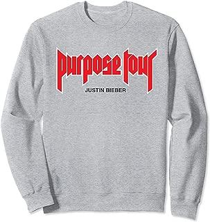 Purpose Tour Merch Sweatshirt
