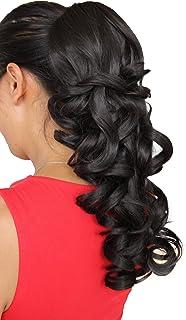 comprar comparacion Pieza de extensión de pelo rizado voluminoso, resistente al calor, 50,8 cm de largo, de Prettyshop