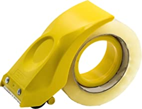 PROSUN Easy-Mount 2 Inch Tape Gun Dispenser Packing Packaging Sealing Cutter Yellow Handheld Warehouse Tools