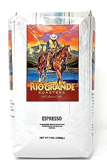 Rio Grande Roasters Espresso 3 Lb. Bag Whole Bean Coffee