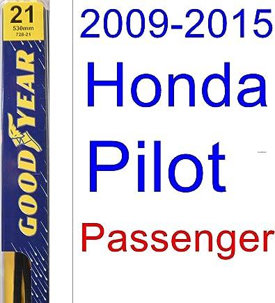 2009-2015 Honda Pilot Wiper Blade (Passenger) (Goodyear Wiper Blades-Premium
