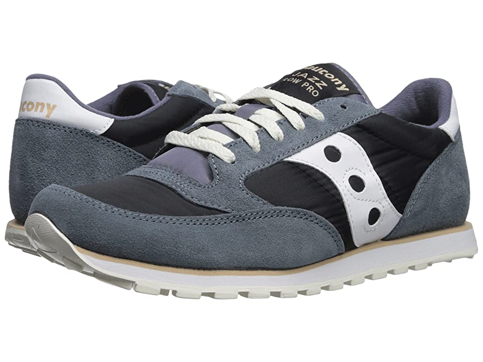 Saucony Originals Jazz Low Pro (Navy/White 1) Men