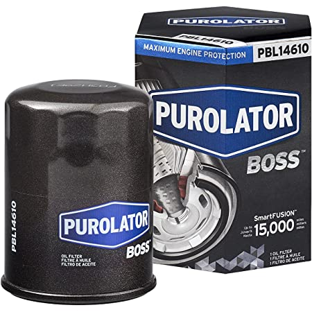 PurolatorBOSS Maximum Engine Protection Spin On Oil Filter,