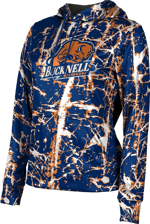 ProSphere Bucknell University Girls' Pullover Hoodie, School Spirit Sweatshirt (Distressed)