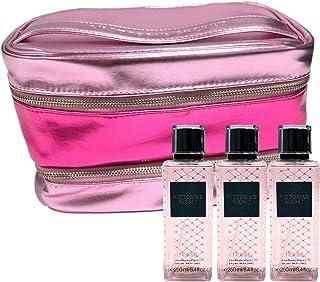 Victoria's Secret Tease Gift Set Mist & Train Case Cosmetic Bag 4 Piece Combo