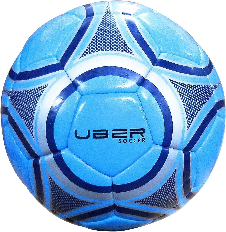 Uber Boston Mall Soccer Trainer High material Ball 3 Silver Cyan