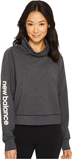 New Balance - Funnel Neck Layer Top