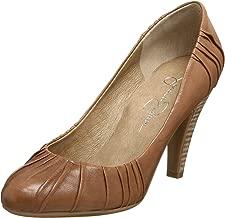 jessica simpson cognac heels