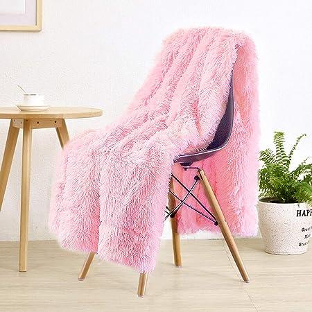 Details about  /YOUSA Super Soft Long Shaggy Fuzzy Fur Faux Fur Warm Elegant Cozy with Fluffy Sh