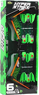 Zing HyperStrike Bow, Clear Green; with an Incredible Range of Over 250ft. Great for Long Range Outdoor Play with Friends ...