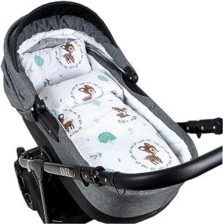 Goosuny Baby Spannbettlaken Spannbetttuch Wiege und Stubenwagen Stretch Spannbettlaken Matratzenauflage Atmungsaktiv Kinderwagen Stubenwagen Wiege Stuben Bettlaken