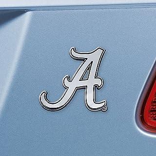 Alabama Crimson Tide Real Chrome Metal Auto Emblem
