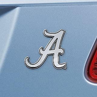 FANMATS 14806 NCAA University of Alabama Crimson Tide Chrome Team Emblem , 3