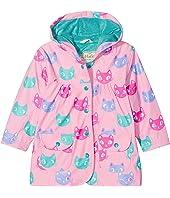 Hatley Kids - Silly Kitties Raincoat (Toddler/Little Kids/Big Kids)