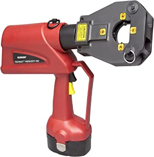 Burndy PAT81KFT-18V Patriot 4 Point Battery Actuated Hydraulic Self-Contained Crimping Tool, 6 Ton Crimp Force, 3.7