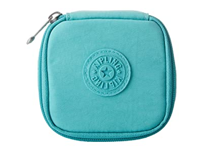 Kipling Joyful Travel Jewlery Pouch (Seaglass Blue) Wallet