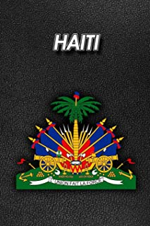 Haiti: Coat of Arms - 2020 Weekly Calendar - 12 Months - 107 pages 6 x 9 in. - Planner - Diary - Organizer - Agenda - Appo...