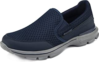 CELANDA Men's Lightweight Trainers Fashion Slip On Sneakers Casual Walking Shoes Comfort Loafers Driving Shoes