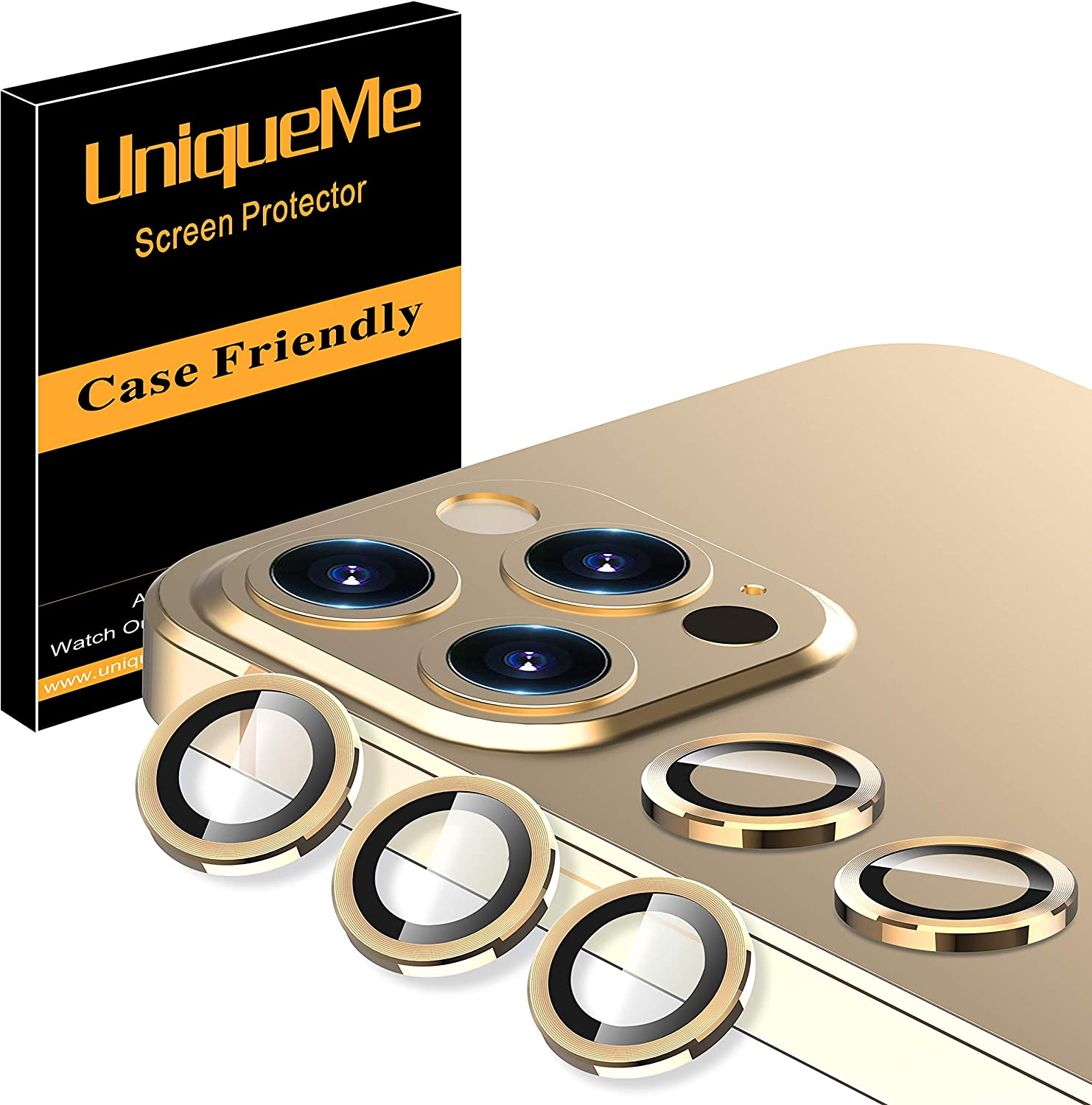 5 Pack UniqueMe Camera Lens Protector iPhone Time sale Manufacturer regenerated product 12 for Compatible