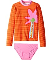 Stella McCartney Kids - Striped Palm Swim Set (Toddler/Little Kids/Big Kids)