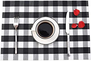 Best black and white placemats and coasters Reviews