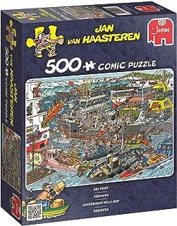 Jumbo Jan Van Haasteren Sea Port Jigsaw Puzzle (500 Piece)