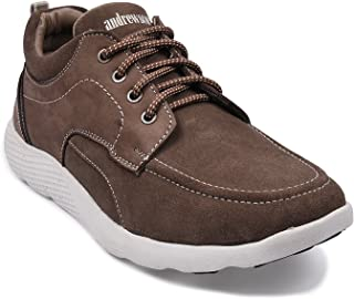 Andrew Scott Men's Suede Leather Casual Shoes