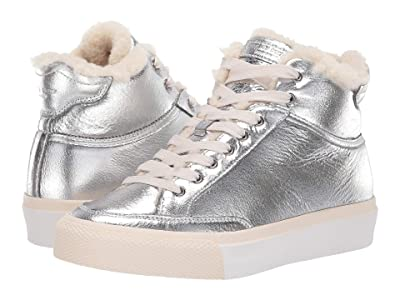 rag & bone RB Army High Sneaker (Silver) Women