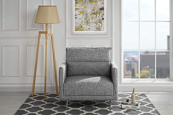 Housel Living HSL387 1S Armchair Light Grey