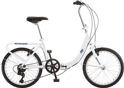 Schwinn - Bicicleta plegable, de 20 pulgadas o 50.8 cm, negro