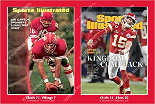The Chiefs Two Super Bowl Wins 1970-2020 - Sports Illustrated Covers Poster