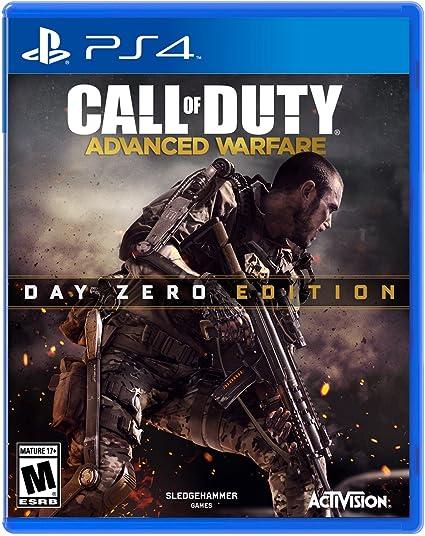 Amazon Com Call Of Duty Advanced Warfare Day Zero Edition Video Games